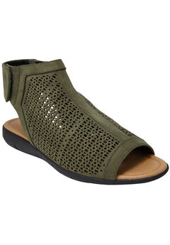 Blakely Shooties by Comfortview®, DARK OLIVE, hi-res