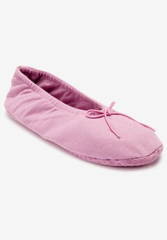 The Ana Ballerina Slipper by Comfortview®,