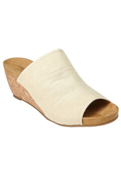 Nicoletta Sandals by Comfortview®, NATURAL, hi-res