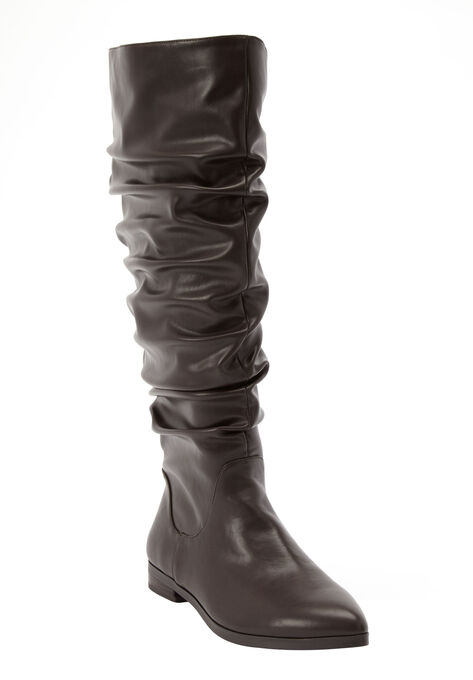 5b8034e74c6 The Addison Wide Calf Boot by Comfortview®