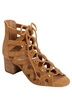 Middle Ground Sandals by Aerosoles®, DARK TAN SUEDE