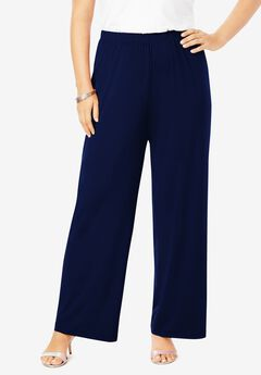 Ultrasmooth® Wide-Leg Pant, NAVY
