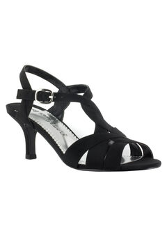 Glamorous Pump by Easy Street®, BLACK PEAU
