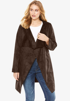 Faux Suede Jacket,