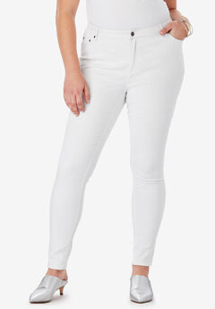 Skinny Jean By Denim 24/7®, WHITE DENIM