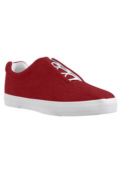 Bungee Slip-on Sneaker by CV Sport by Comfortview®, CLASSIC RED, hi-res