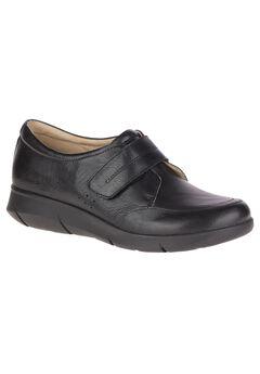 Believe Mardie Sneakers by Hush Puppies®, BLACK LEATHER