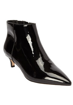 The Meredith Bootie by Comfortview®, BLACK PATENT, hi-res