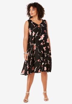 57984b490c0 Plus Size Dresses for Women | Roaman's