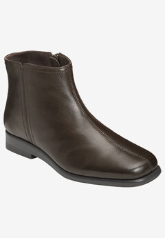 Double Trouble 2 Booties by Aerosoles®, DARK BROWN LEATHER