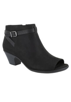 Sparrow Booties by Easy Street®, BLACK SUPER SUEDE, hi-res