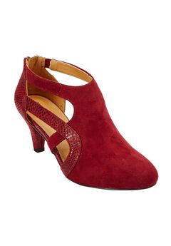 Sage Pump by Comfortview®, BURGUNDY, hi-res