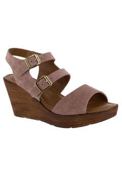 Ani-Italy Sandals by Bella Vita®, BLUSH SUEDE, hi-res