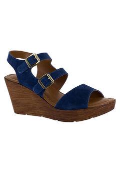 Ani-Italy Sandals by Bella Vita®, NAVY SUEDE, hi-res