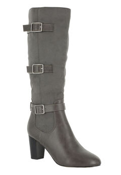 Talina II Boots by Bella Vita®, GREY BURNISH