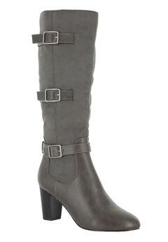 Talina II Boots by Bella Vita®, GREY BURNISH