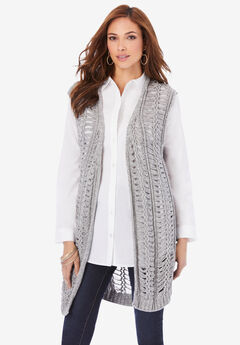 Crochet Sweater Vest,