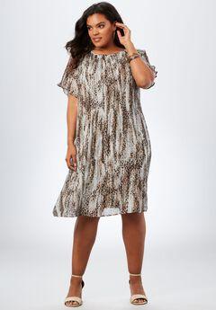 Pleated Dress,