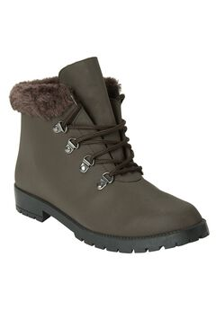 Water-Repellent Hiker Boots, BROWN, hi-res