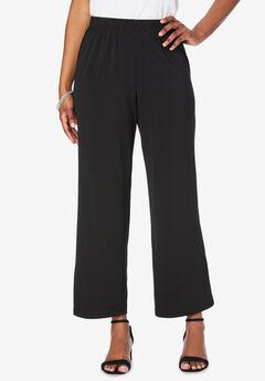 Ultrasmooth® Wide-Leg Pant, BLACK