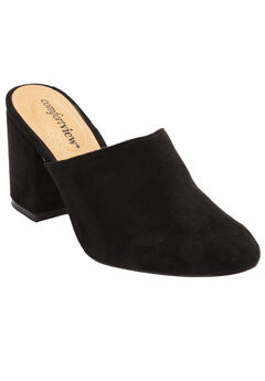 The Brenda Mule by Comfortview®, BLACK