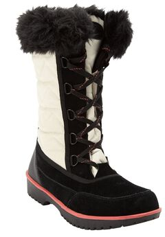 The Eileen Waterproof Wide Calf Boot by Comfortview®,