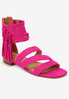 The Eleni Sandal by Comfortview®, VIVID PINK