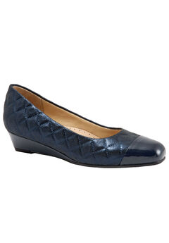 Langley Slip-Ons by Trotters®, NAVY QUILTED, hi-res