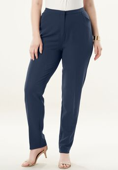 Dressy Tapered-Leg Trouser,