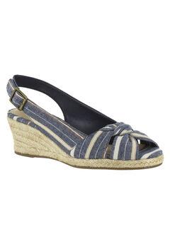 Seraphina II Sandals by Bella Vita®, NAVY MULTI STRIPE