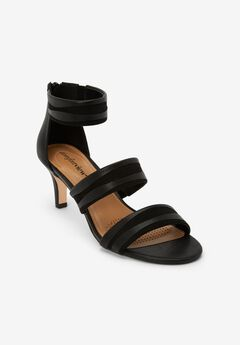 The Gene Sandal by Comfortview®, BLACK