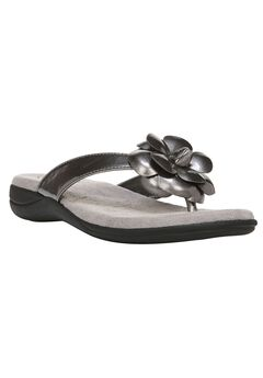 Elita Sandals by LifeStride, PEWTER