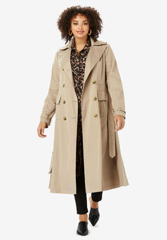 Essential Trench Coat, SAND DUNE