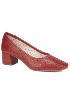 Vayda Leather Heel by Cliffs,