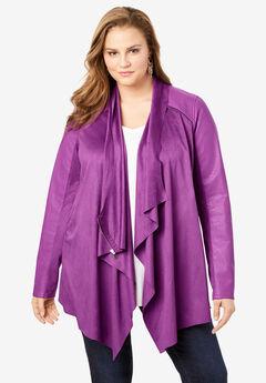 Soft Draped Jacket,