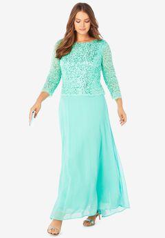 Lace Popover Dress,