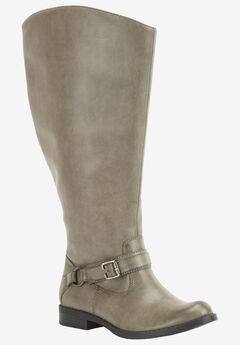 Quinn Plus Plus Wide Calf Boots   ,