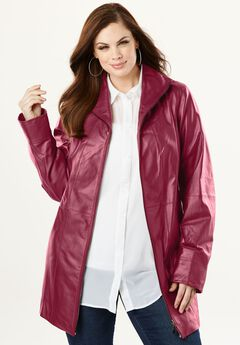 A-Line Leather Jacket,