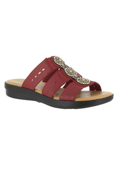 Nori Sandals by Easy Street®, RED