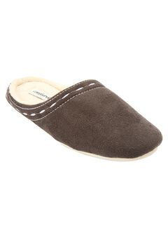 Stitched Clog Slipper by Comfortview®, GREY, hi-res