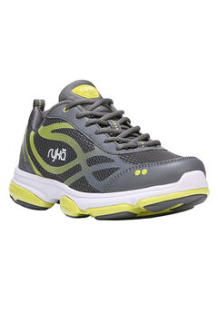 Devotion XT Sneakers by Ryka®, GREY LIME, hi-res