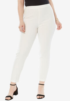 Bend Over® Ankle Pant, WHITE