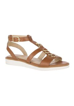 Briard Ring T-Strap Sandals by Hush Puppies®,