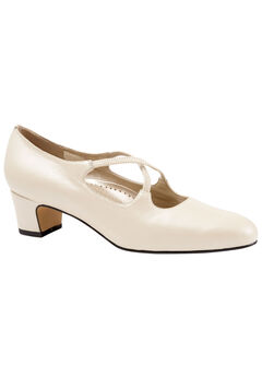 Jamie Pump by Trotters®, WHITE PEARL, hi-res