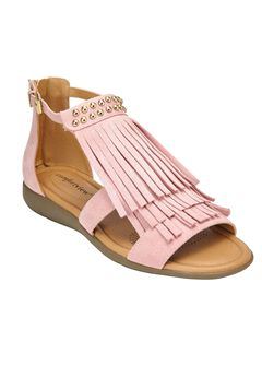 Carmella Sandals by Comfortview®, ROSE MIST