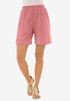 Soft Knit Short, DESERT ROSE