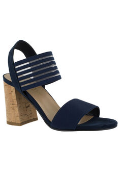 Dan-Italy Sandals by Bella Vita®, NAVY, hi-res