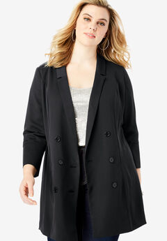 80fb87109cef9 Plus Size Blazers   Toppers