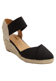Abra Espadrille by Comfortview®, BLACK, hi-res
