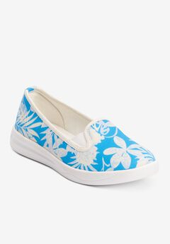 The Dottie Sneaker , TONAL FLORAL